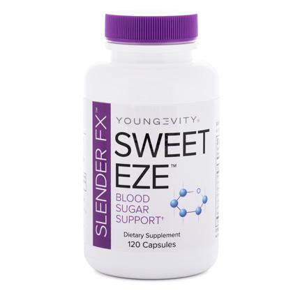 Slender Fx  Sweet-Eze - 120 Capsules