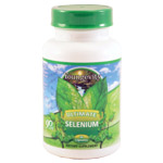 Ultimate™ Selenium 90 Caps  Item #: 20971 Selenium is one of the most documented and widely studied trace elements known. Numerous studies have shown its importance to the body